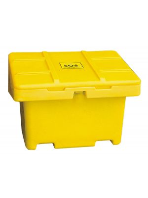 Yellow SOS Storage Bin - 11 Cu.Ft